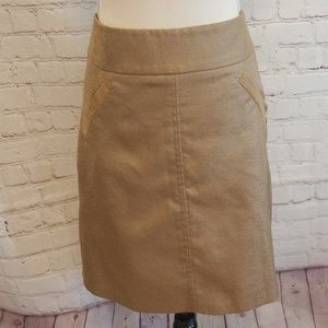 The Limited Collection Tan Pencil Skirt